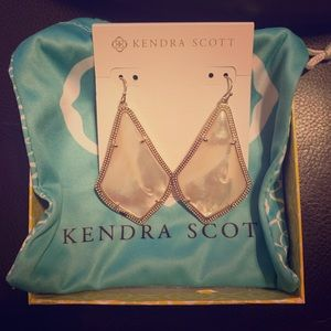 Kendra Scott Alexandra Mother of Pearl Earrings
